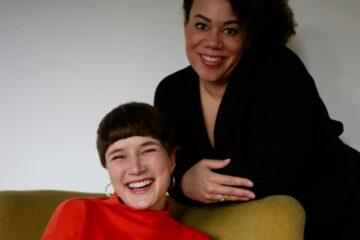 Den nye bestyrelse i Ladies First består af Nikoline på 25 år og Louise på 39 år.