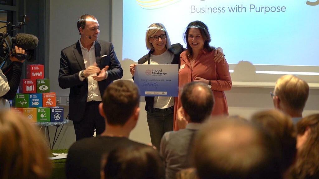 Fredag den 14. december 2018 afholdte Dansk Iværksætter Forening og Erhvervsstyrelsen finale i konkurrencen Impact Challenge, som har fokus på forretningsideer, der vil løse nutidens samfundsudfordringer. GoGetty vandt i kategorien Start-up.