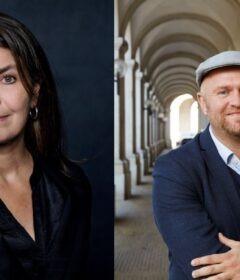 Mette Korsgaard (Foto: Simon Klein-Knudsen) og Michael Jannerup (Foto: Morten Holtum) er tiltræder som nye forlagschefer d. 1. januar 2021