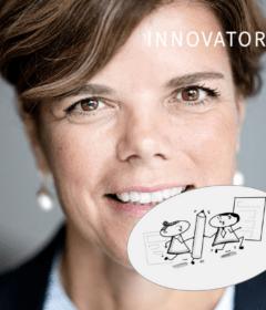 Charlotte Slente - generalsekretær hos Dansk Flygtningehjælp - DRC - er modtager af denne uges Innovator Q-stafet.