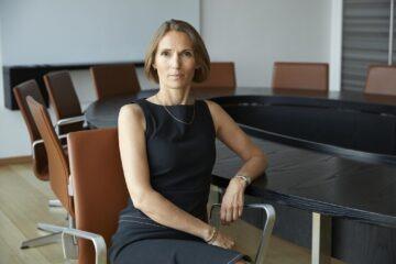 45 årige Anne Buhl Bjelke er ny bestyrelsesformand for Bech-Bruun. Hun har siden 2011 været partner i virksomheden. Foto: PR