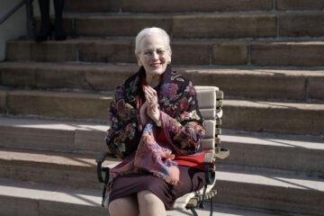 Dronningens fødselsdag 16 april 2021 (foto Keld Navntoft/Kongehuset)