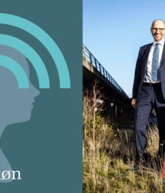 I dette sjette afsnit af podcasten 'Ledelse af køn' gæster Ib Enevoldsen studiet til en ærlig snak om fejltagelser og faldgruber. Foto: Rambøll