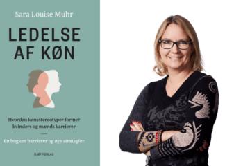 Bogen Ledelse Af Køn er skrevet af CBS professor Sara Louise Muhr og udgivet hos Djøf Forlag. Foto: CBS, pressefoto
