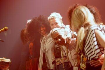 HUN SOLO Extravaganza på Forbrændingen i Albertslund med bl.a. Dicte Iris Gold Madame Gandhi ANYA og Angående Mig. Foto: Niels Ole Sørensen