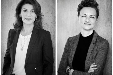 Laura Vilsbæk og Karina Goos, to erfarne bestyrelsesprofiler, indsættes som bestyrelsesmedlemmer i hhv. Says Who og Bluewhale ApS. Foto: Presse