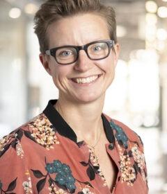Louise Buchter bliver ny AML-direktør i Arbejdernes Landsbank. Hun skal være med til at sikre overholdelsen af hvidvasklovgivningen. Foto: PR