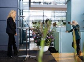 Marianne Levinsen modtog d. 15. september Skandinaviens største arkitektupris på 500.000 kr. Foto: Søren Svendsen