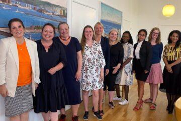 Der mangler kvinder i dansk politik, og i Aarhus har de derfor stiftet et lokalt netværk for kvinder i politik. Foto: Privat