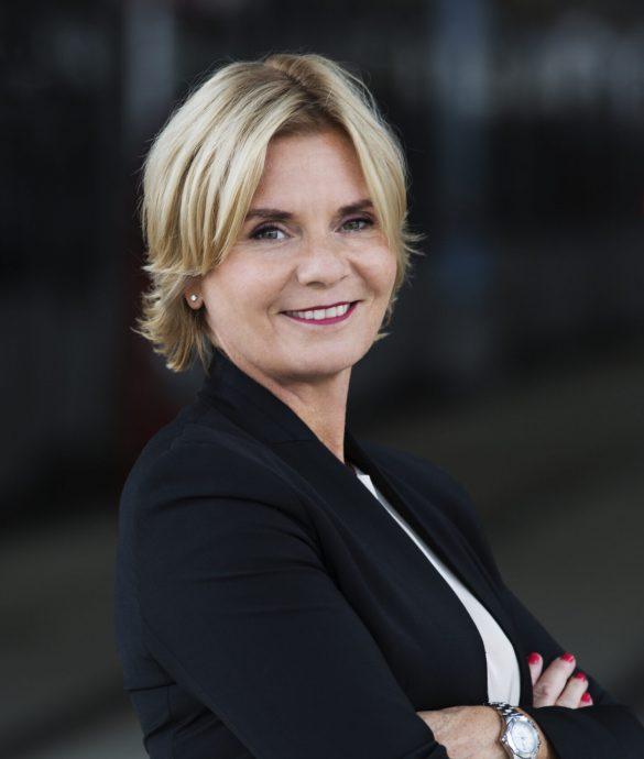 Åsa Bergman har været Swecos administrative direktør siden 2012.  Foto: Tobias Regell