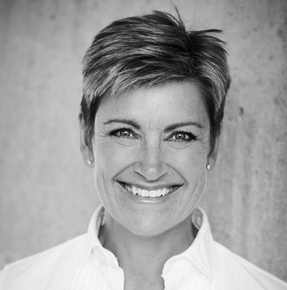 Anna Hejlsberg er bosiddende i Aarhus, hvor AGF har hjemby. Foto: Pressebillede