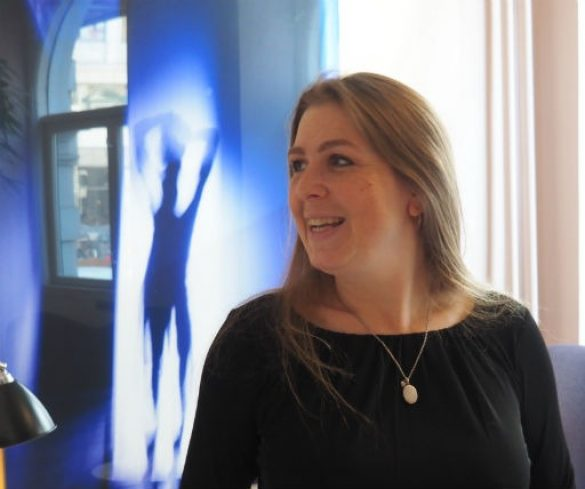 Malene Sølvsten, fotograferet i forbindelse med interviewet i KLUB, efteråret 2018 Foto: Trine Askholm