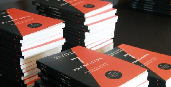 """Dagens co-creation tog udgangspunkt i bogen """"7 Praksisser"""" af Bo Heimann og Tom Hansen. Foto: Copenhagen Leadership"""