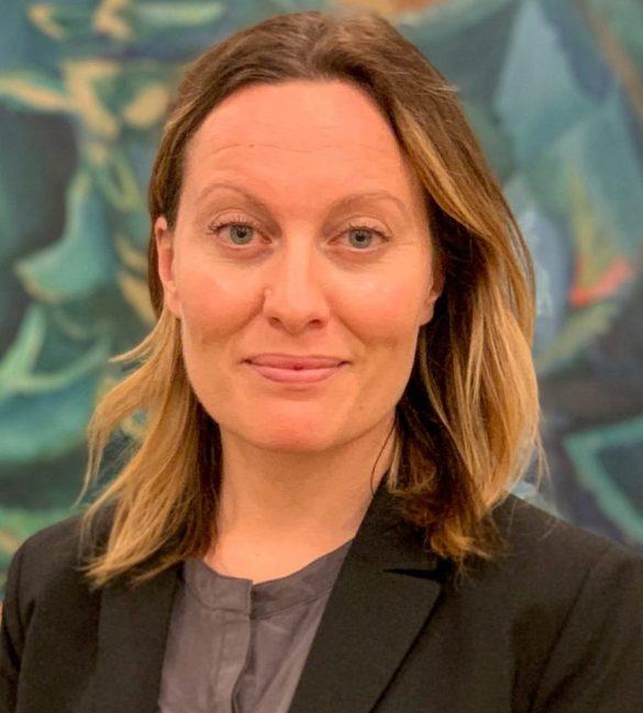 Maria Simonson er netop tiltrådt stillingen som Head of Group Societal Impact & Sustainability i Danske Bank.Foto: Danske Bank