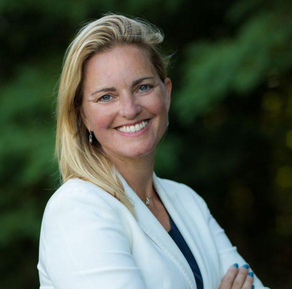 Anja Madsen vender hjem til Danmark efter mange år i udlandet. Hun har en MBA fra INSEAD og har læst økonomi på London School of Economics. Foto: Pressefoto Salling Group