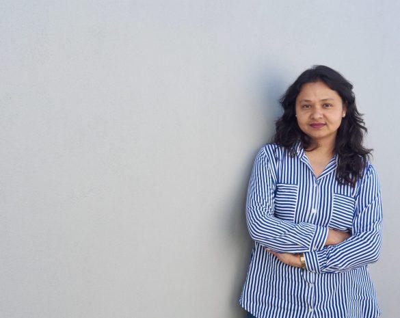 39-årige Sharmila Thapa Basnet kom til Danmark fra Nepal på Grencardordningen. Foto: Innovator Q