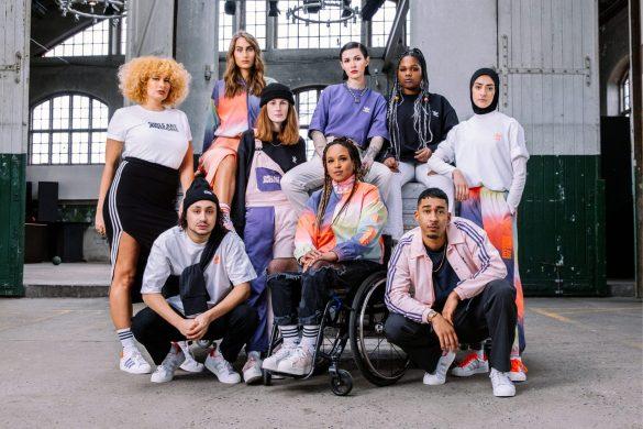 Det globale samarbejde mellem Girls Are Awesome og adidas Originals skal styrke kvinder som rollemodeller. Tøjkollektionen er i butikkerne verden over fra den 22. april. Foto: Girls Are Awesome