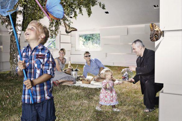 Udover at undgå madspild og tænke bæredygtigt, er ideen bag den svenske restaurant Bloom in The Parks 'no-menu' koncept at få gæsterne til at slappe af og tillade sig at smage uden forudfattede meninger. Og gennem årene er alle mulige sjove og lidt provokerende ingredienser landet på tallerknerne i restauranten i Pildammsparken. Foto: Christoffer Lomfors