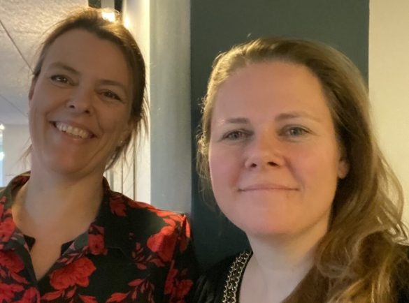 Ann Sofie Hald & Mette Oscar Pedersen har fået støtte til at udvikle Fagjournalisten.dk/Foto