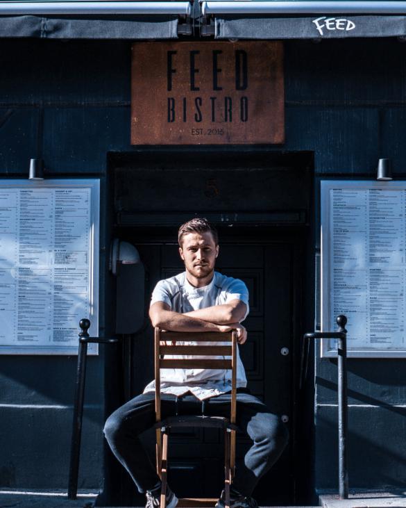 Feed Bistros ejer og køkkenchef Jacob Jørgsholm drømmer om at åbne flere restauranter op og at udvide virksomheden i forskellige grene.