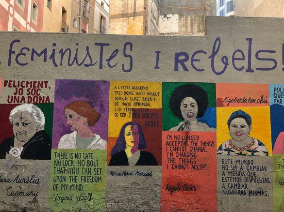 Gadekunst i Barcelona. Foto: Red Dot